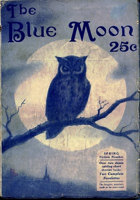 Blue moon owl