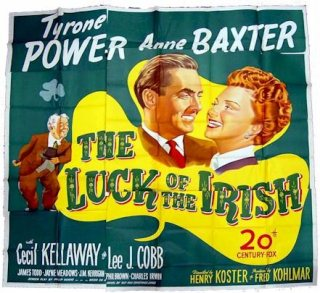 Luck of the irish poster