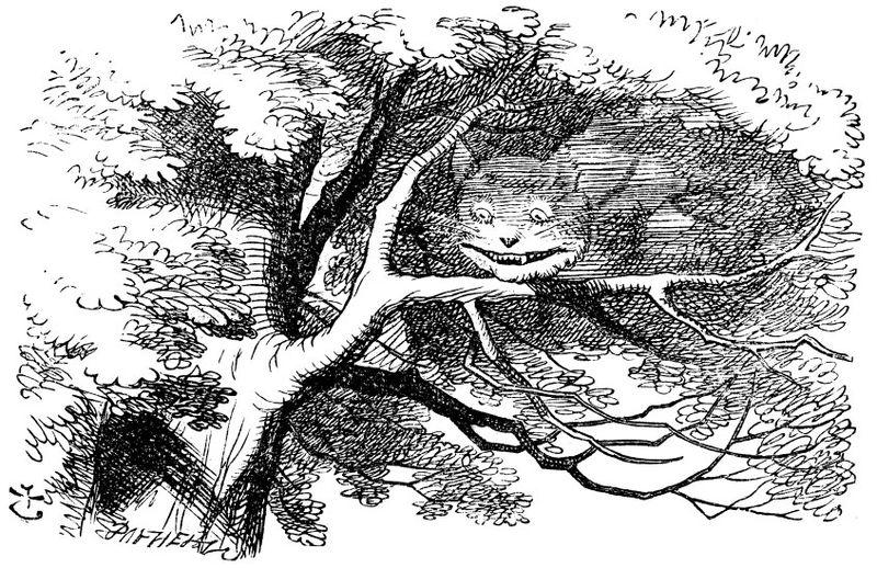 Tenniel cat