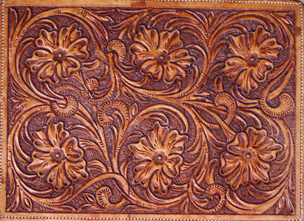 Sheriden tooled case
