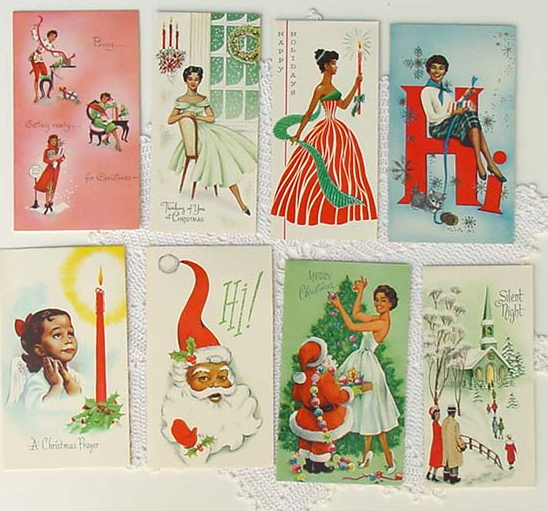 Ebony xmas cards