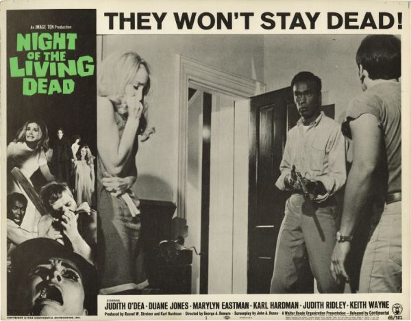 Night of living dead poster